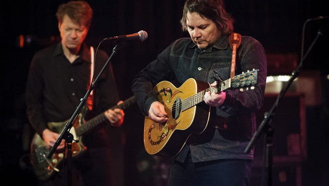"Wilco performs at the Riverside Theater Dec. 3, 2014. The group just released a new album, ""Schmilco."""