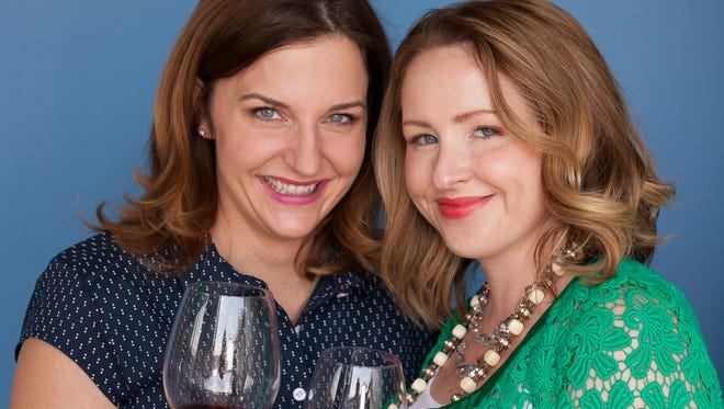 Kristen Hensley and Jen Smedley are the Facebook mom-phenoms known as #IMOMSOHARD. The duo is coming to Tarrytown.