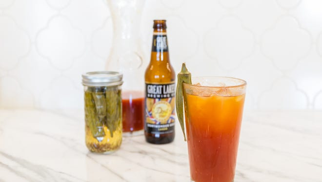Using beer for this recipe is actually more cost-efficient than using vodka ... but you still can.