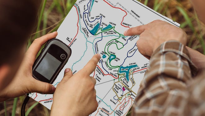 Try your hand at geocaching in Bowie Nature Park this Saturday, April 22 in celebration of Earth Day 2017.