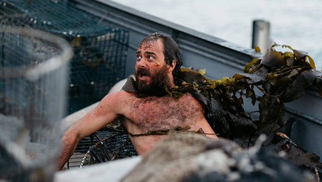 """Philip Burgers on a boat in a scene of """"The Passage"""" screening at the 2018 Palm Springs International ShortFest."""