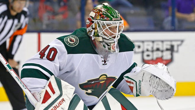Goalie Devan Dubnyk posted a 1.78 goals-against average and .936 save percentage with the Minnesota Wild last season.
