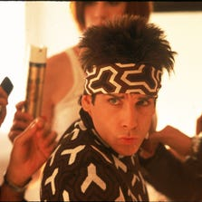 Ben Stiller in a scene from the motion picture 'Zoolander.'