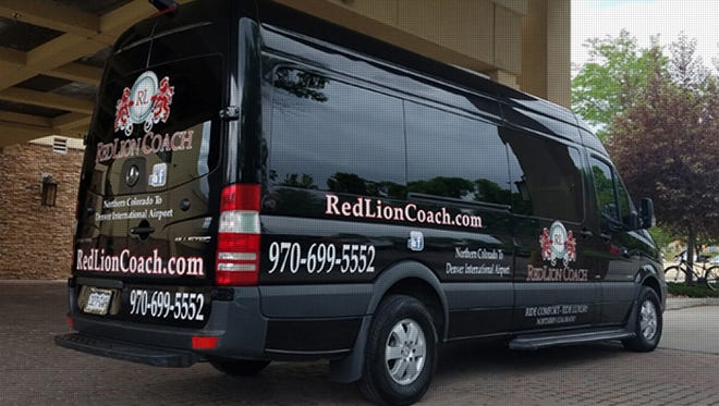RedLion Coach is doing hourly shuttles from Fort Collins to Denver International Airport.