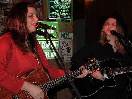 Kari Arnett and Galynne Goodwill