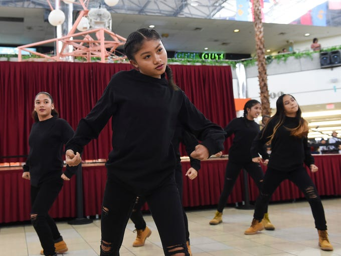 Talent Box dancers perform an array of hip-hop dance