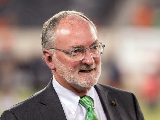 FILE – Notre Dame AD Jack Swarbrick sat down with IndyStar's Laken Litman this week to discuss a wide range of issues.