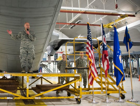Change of Command at the 179th Airlift Wing