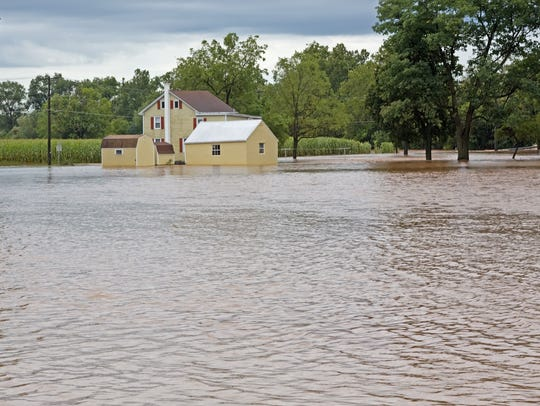 Flooding can be a common problem after storms.