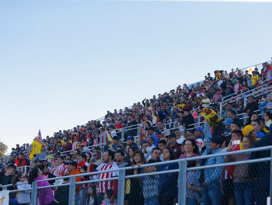 """Fans from San Benito High School will have to make a 45-minute drive each way to come watch the Haybalers """"home"""" games on Friday and sometimes Thursday nights."""