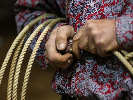 ROPESThe correct term is rope, not lasso, lariat or riata; most ropes used in ProRodeo timed events are made of strong yet flexible braided materials such as nylon/poly blends, and a cowboy may change his rope selection depending on the weather and the cattle; bull ropes and bronc reins are often made of sisal or poly blends.