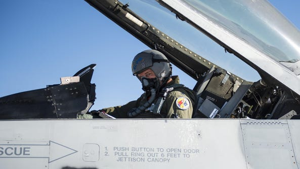 Lt. Col. Ronald King, the 82nd Aerial Targets Squadron,