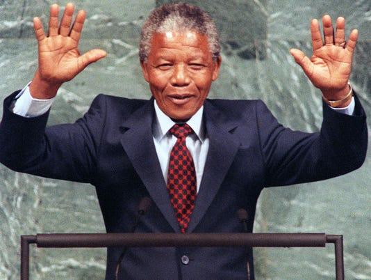 Mandela at the UN in 1990