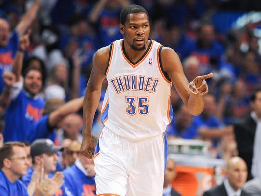 Kevin Durant wins NBA MVP award