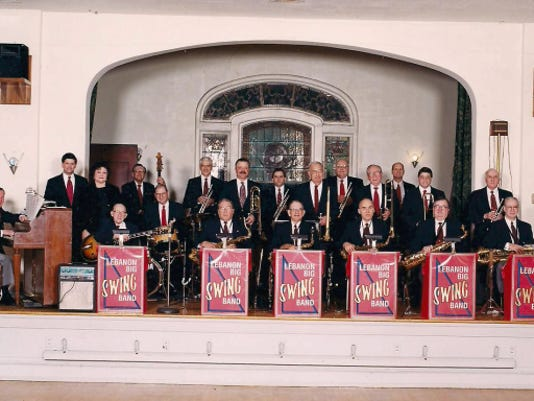 Lebanon's big swing band is celebrating its 25th anniversary. Submitted