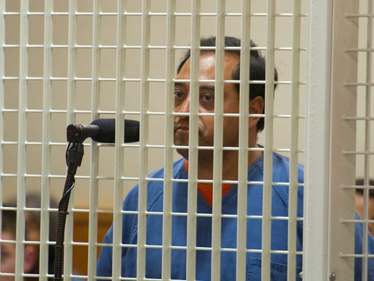 Juan Jose Aguilar, 50, of Oxnard, appears in Ventura County Superior Court on July 8, 2013.