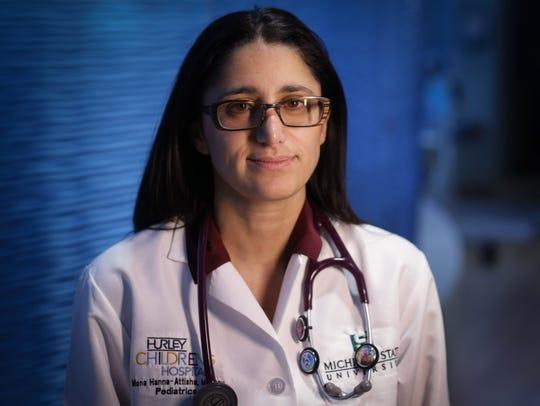 Dr. Mona Hanna-Attisha, pediatrician at Hurley Medical