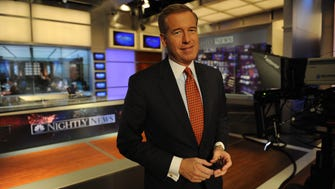 NBC Nightly News anchor Brian Williams.
