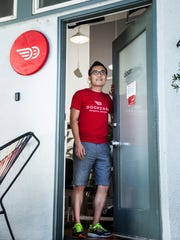 Doordash CEO and co-founder founder Tony Xu is photographed
