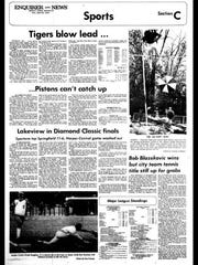 Battle Creek Sports History: Week of April 21, 1976
