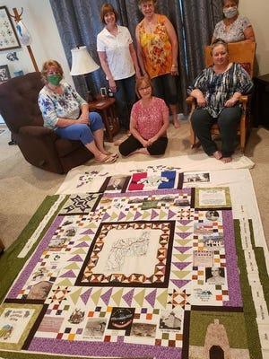Phelps County commemorative quilt.