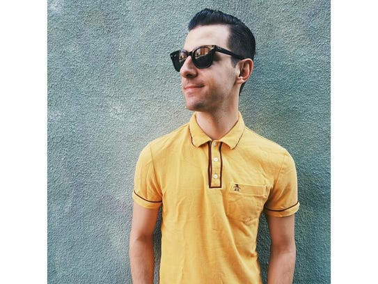 Jared Mancuso is promoting the Vintage Vibe festival