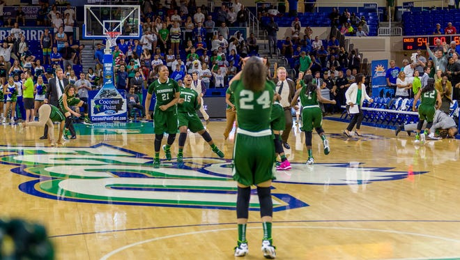 Two years ago, ASUN perennial power FGCU was upset by second-seeded Jacksonville in the conference tournament final in Alico Arena. Top-seeded FGCU again hosts second-seeded JU in Sunday's title game.