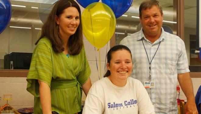 West Henderson senior Brianna Morris will play college softball for Salem.