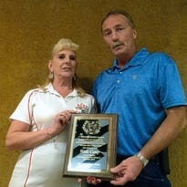 Camp, Andrews honored at Millville Elks Lodge Sports Frolic