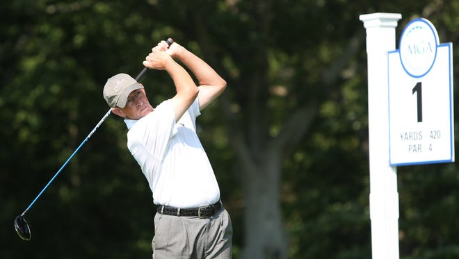 David Young of Sleepy Hollow Country Club tied for fourth place at the MGA Senior Championship at Engineers CC.