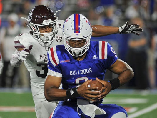 NCAA Football: Mississippi State at Louisiana Tech