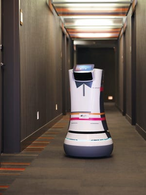 Aloft Hotels has hired its first robotic butler, or Botlr.
