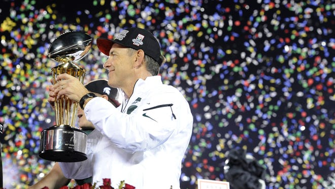 If Michigan State football wins its remaining three games, it could find itself back in Pasadena at the Rose Bowl.