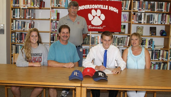 Hendersonville golfer Alex Yarborough has signed with Brevard College.