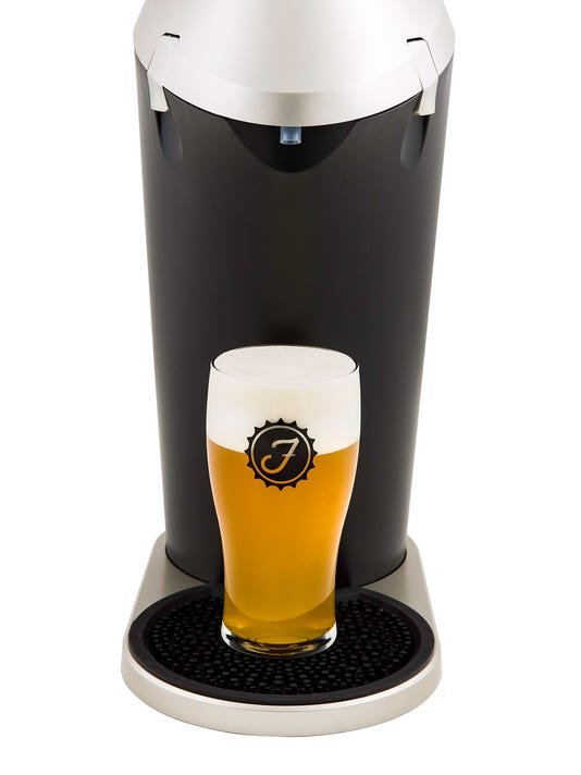 Machine creates draft brew