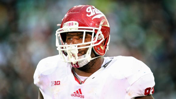 Indiana defensive lineman Ralph Green III will provide some experience along the defensive front.
