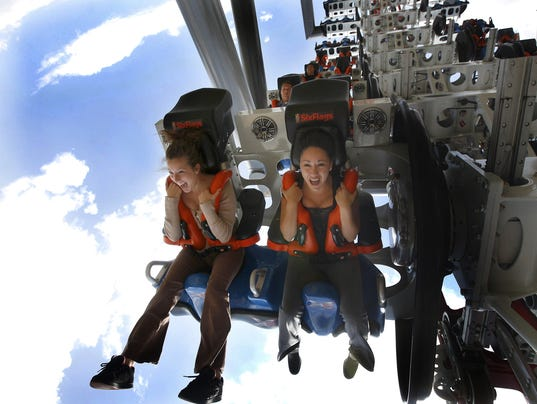 XXX 10 GREAT ROLLERCOASTERS THE X2  634.JPG D ENT USA CA