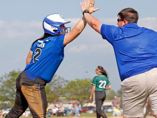 Twin Valley vs. Garden Spot District Softball