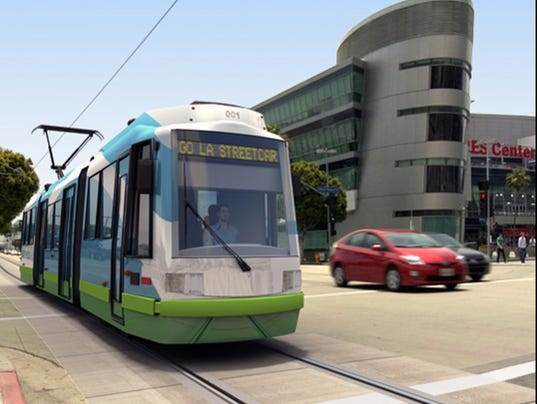 AP LA Streetcars