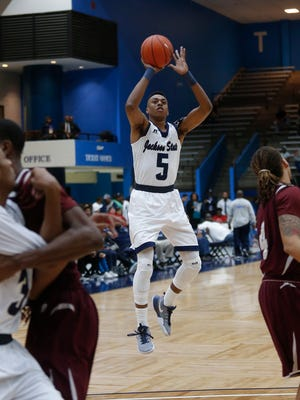 Paris Collins and the JSU Tigers have won four of six headed into the SWAC basketball tournament.