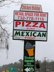 Exterior of some of the businesses that benefit from
