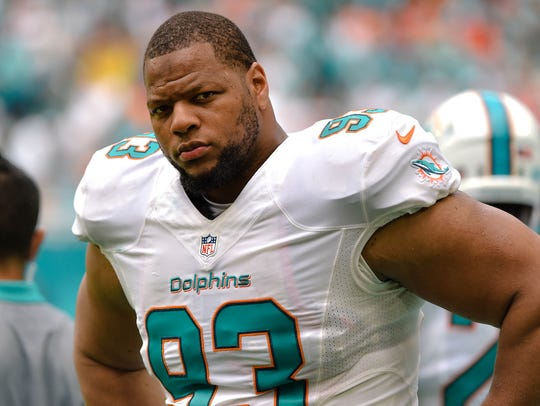 DT – Ndamukong Suh, Miami Dolphins