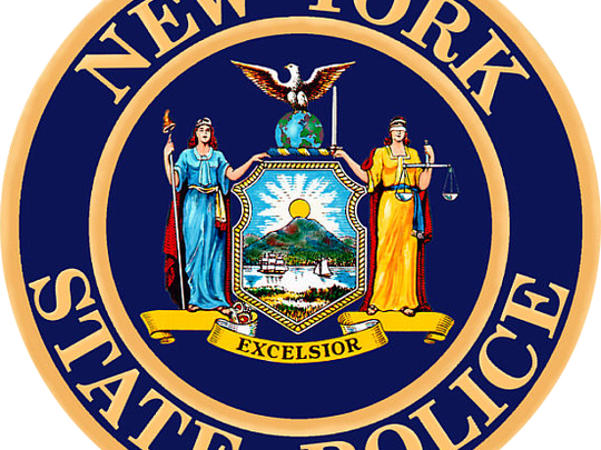 The New York State Police seal.