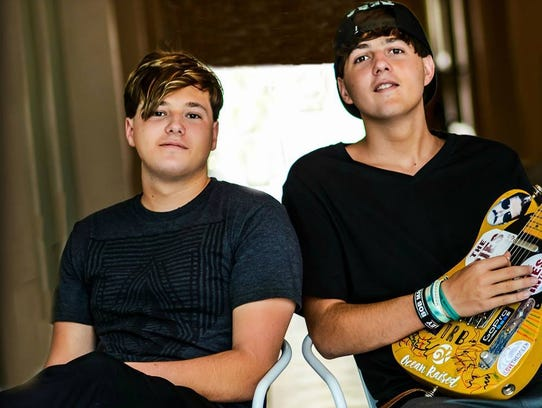 The Ries Brothers, a Tampa duo, will perform Friday