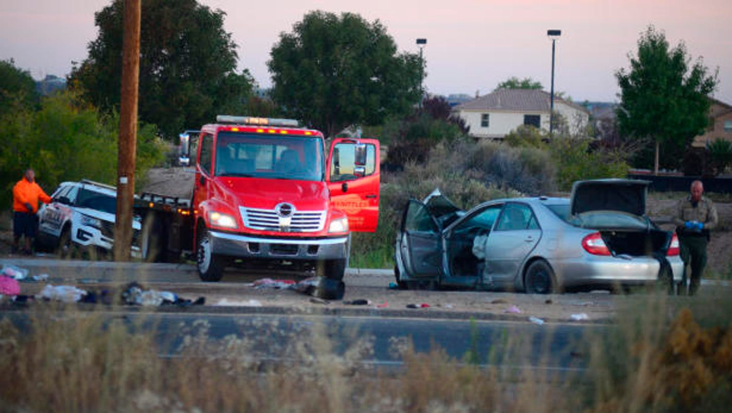 Carjacked vehicle collides with Albuquerque police vehicle