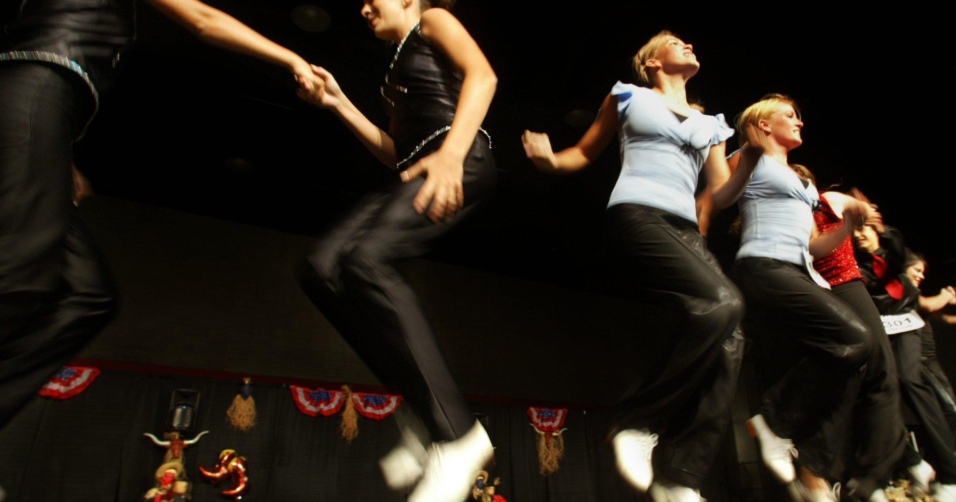 Get your toes tapping at weekly clogging classes