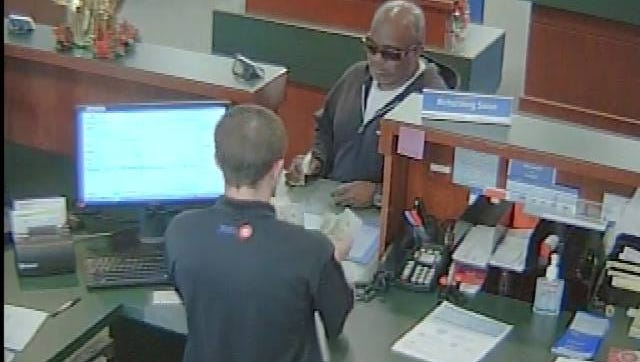 The Peoria Police Department and FBI are seeking the public's help identifying a bank robbery suspect.