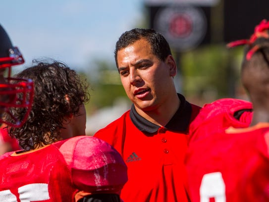 Southern Utah director of football operations Jeff