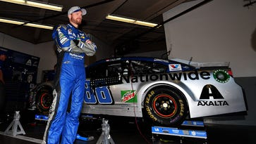 USA TODAY Archives: Dale Earnhardt Jr. divides time between Daytona, dealership