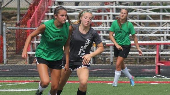 Badin's Malia Berkely was named Ohio Ms. Soccer today